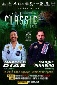Em duelo inédito, Marcelo Dias e Maique Pinheiro se enfrentarão no Jungle Classic Jiu-Jítsu 5.0