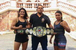 Em busca do cinturão do Peso Galo, Elane Macário irá enfrentar Larissa Moura no Skull Champions Girls