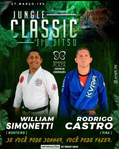 Jungle Classic 5.0: Rodrigo Castro encara William Simonetti