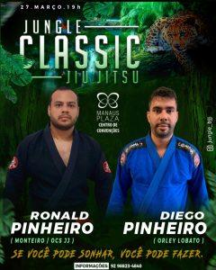 Jungle Classic 5.0: Após duas décadas, Diego Pinheiro busca vitória na revanche contra Ronald Pinheiro