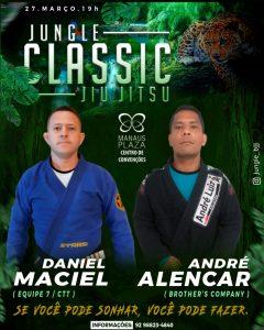 Confronto inédito: Daniel Maciel encara André Alencar no Jungle Classic Jiu-Jitsu 5.0