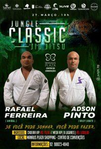 Duelo de Peso: Jungle Classic confirma luta entre Rafael Ferreira e Adson Pinto
