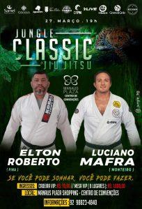 Elton Roberto (Pina) enfrentará Luciano Mafra (Monteiro) no Jungle Classic Jiu-Jitsu 5.0