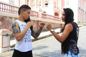 Estreantes em competição, Maria da Encarnação Fortuna e Wara Nikte disputarão o cinturão da modalidade K-1 no Skull Champions Girls