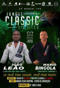 Jungle Classic Jiu-Jitsu 5.0: João Leão busca vitória sobre Mario Bingola